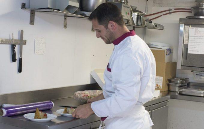 Chef Vincent Bureau